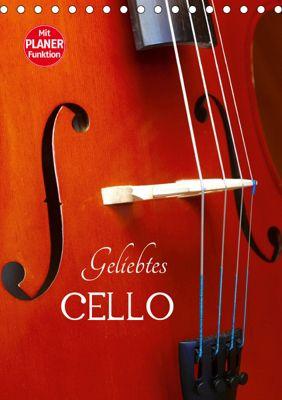 Geliebtes Cello (Tischkalender 2019 DIN A5 hoch), Anette/Thomas Jäger, Anette Jäger