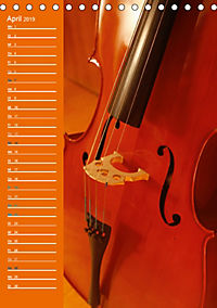 Geliebtes Cello (Tischkalender 2019 DIN A5 hoch) - Produktdetailbild 4