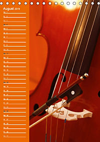 Geliebtes Cello (Tischkalender 2019 DIN A5 hoch) - Produktdetailbild 8