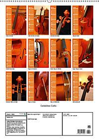 Geliebtes Cello (Wandkalender 2019 DIN A2 hoch) - Produktdetailbild 13