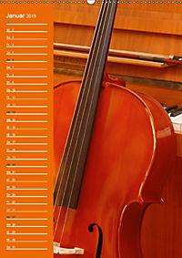 Geliebtes Cello (Wandkalender 2019 DIN A2 hoch) - Produktdetailbild 1