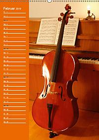 Geliebtes Cello (Wandkalender 2019 DIN A2 hoch) - Produktdetailbild 2