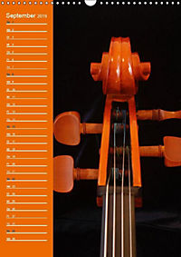 Geliebtes Cello (Wandkalender 2019 DIN A3 hoch) - Produktdetailbild 13