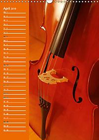 Geliebtes Cello (Wandkalender 2019 DIN A3 hoch) - Produktdetailbild 4