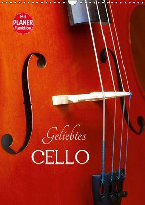 Geliebtes Cello (Wandkalender 2019 DIN A3 hoch), Anette/Thomas Jäger, Anette Jäger