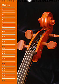 Geliebtes Cello (Wandkalender 2019 DIN A3 hoch) - Produktdetailbild 3