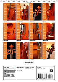 Geliebtes Cello (Wandkalender 2019 DIN A4 hoch) - Produktdetailbild 13