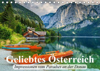 Geliebtes Österreich. Impressionen vom Paradies an der Donau (Tischkalender 2019 DIN A5 quer), Elisabeth Stanzer