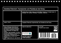 Geliebtes Österreich. Impressionen vom Paradies an der Donau (Tischkalender 2019 DIN A5 quer) - Produktdetailbild 13