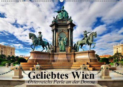 Geliebtes Wien. Österreichs Perle an der Donau (Wandkalender 2019 DIN A2 quer), Elisabeth Stanzer