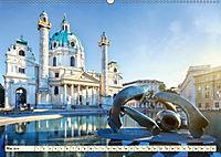 Geliebtes Wien. Österreichs Perle an der Donau (Wandkalender 2019 DIN A2 quer) - Produktdetailbild 5