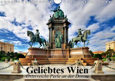 Geliebtes Wien. Österreichs Perle an der Donau (Wandkalender 2019 DIN A4 quer), Elisabeth Stanzer
