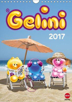 Gelini (Wandkalender 2017 DIN A4 hoch), KIDDINX Media GmbH