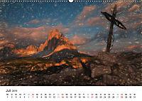 Gemalte Landschaften - Wunderschönes Südtirol (Wandkalender 2019 DIN A2 quer) - Produktdetailbild 7