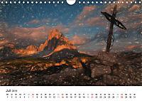 Gemalte Landschaften - Wunderschönes Südtirol (Wandkalender 2019 DIN A4 quer) - Produktdetailbild 7