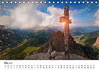 Gemalte Landschaften - Wunderschönes Südtirol (Tischkalender 2019 DIN A5 quer) - Produktdetailbild 5