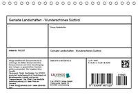 Gemalte Landschaften - Wunderschönes Südtirol (Tischkalender 2019 DIN A5 quer) - Produktdetailbild 13