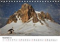 Gemalte Landschaften - Wunderschönes Südtirol (Tischkalender 2019 DIN A5 quer) - Produktdetailbild 11