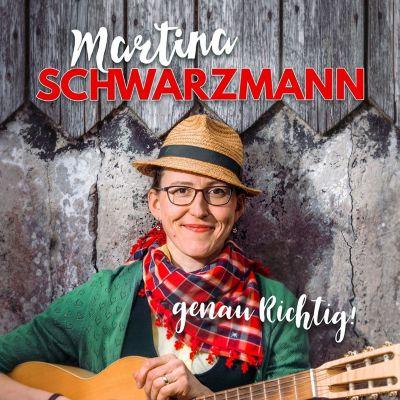 genau Richtig!, 2 Audio-CDs, Martina Schwarzmann