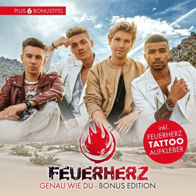 Genau wie du - Bonus Edition (inkl. 6 Bonustitel & Feuerherz Tattoo-Aukleber), Feuerherz