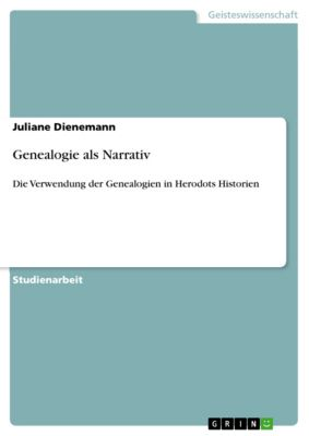 Genealogie als Narrativ, Juliane Dienemann
