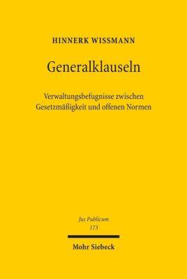 Generalklauseln, Hinnerk Wißmann