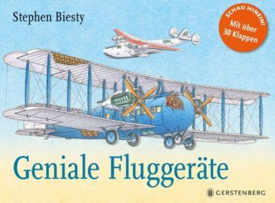 Geniale Fluggeräte, Stephen Biesty