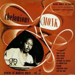 Genius Of Modern Music Vol. 2, Thelonious Monk