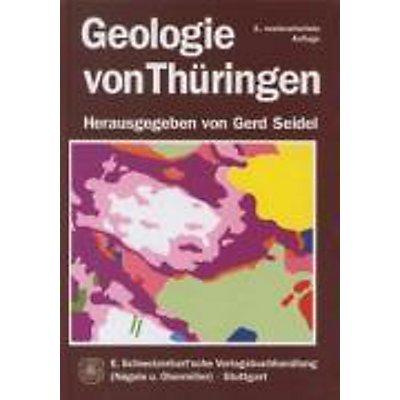 Geologische Karte Thüringen.Geologie Von Thüringen Buch Von Gerd Seidel Versandkostenfrei Bestellen