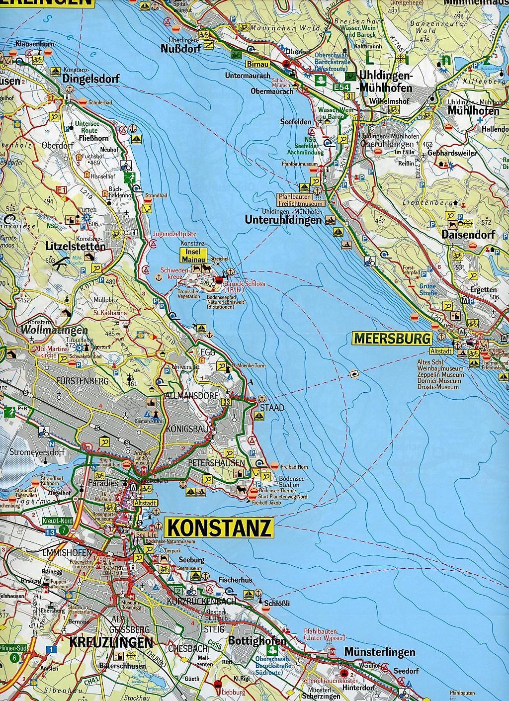 Taufspruch F303274r Karte.Karte Vom Bodensee