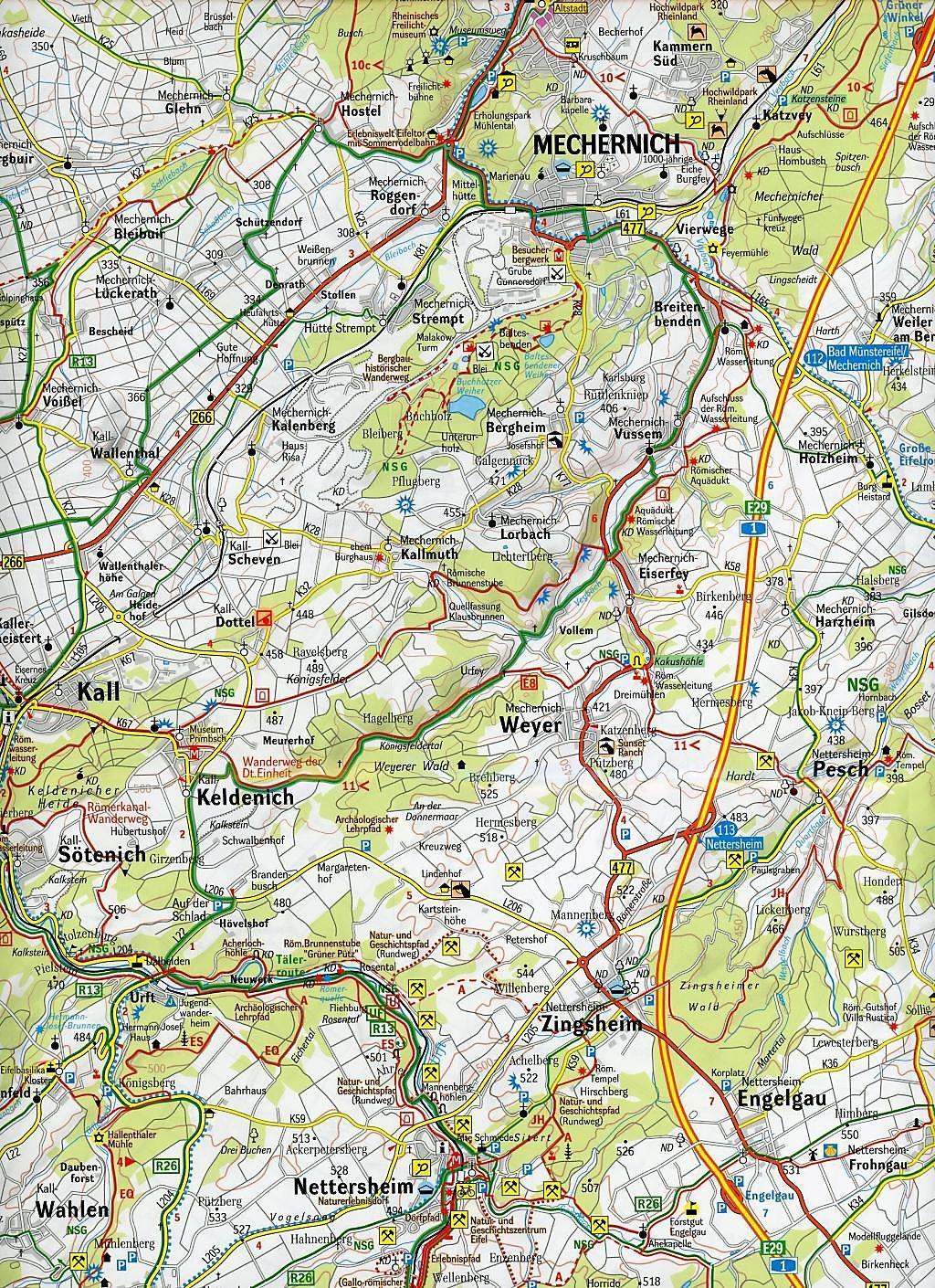 hohes venn karte GeoMap Karte Nationalpark Eifel, Rureifel, Hohes Venn Buch kaufen