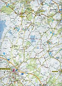 GeoMap Karte Ostfriesland, Ostfriesische Inseln, 1:75.000 Rad- und Freizeitkarte - Produktdetailbild 2