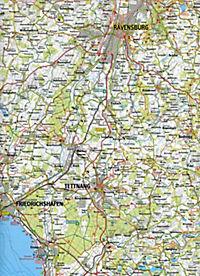 GeoMap Karte Rund um den Bodensee - Produktdetailbild 1