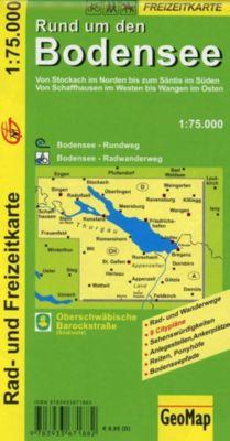 GeoMap Karte Rund um den Bodensee -  pdf epub