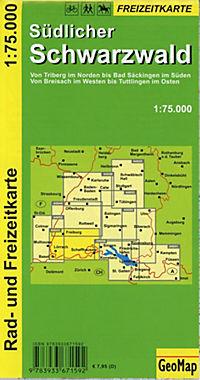 GeoMap Karte Südlicher Schwarzwald - Produktdetailbild 1