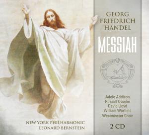 Georg Friedrich Händel - Messiah, 2 CDs, New York Philharmonic, Leonard Bernstein