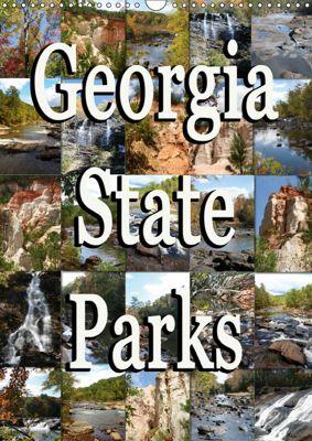 Georgia State Parks (Wandkalender 2019 DIN A3 hoch), Sylvia Schwarz