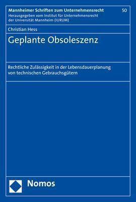 Geplante Obsoleszenz, Christian Hess