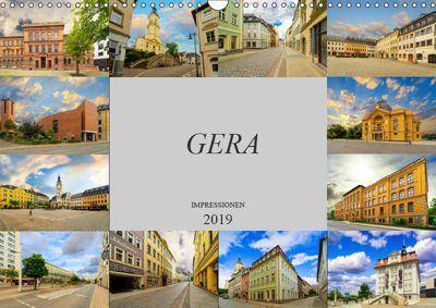 Gera Impressionen (Wandkalender 2019 DIN A3 quer), Dirk Meutzner