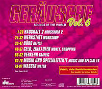 Geräusche Vol.6-Sounds Of The World - Produktdetailbild 1