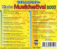 Geraldinos Musikfestival 2007 - Produktdetailbild 1