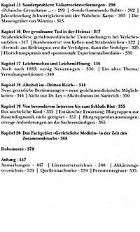 Gerichtsmedizin unterm Hakenkreuz - Produktdetailbild 4