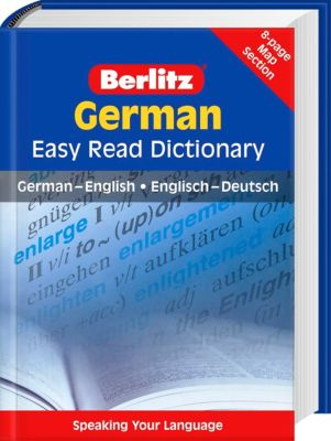 german easy read dictionary buch bei bestellen. Black Bedroom Furniture Sets. Home Design Ideas