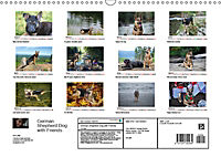 German Shepherd Dog with Friends (Wall Calendar 2019 DIN A3 Landscape) - Produktdetailbild 13