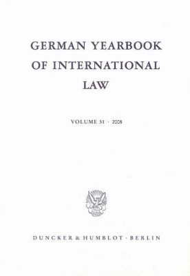 German Yearbook of International Law / Jahrbuch für Internationales Recht.