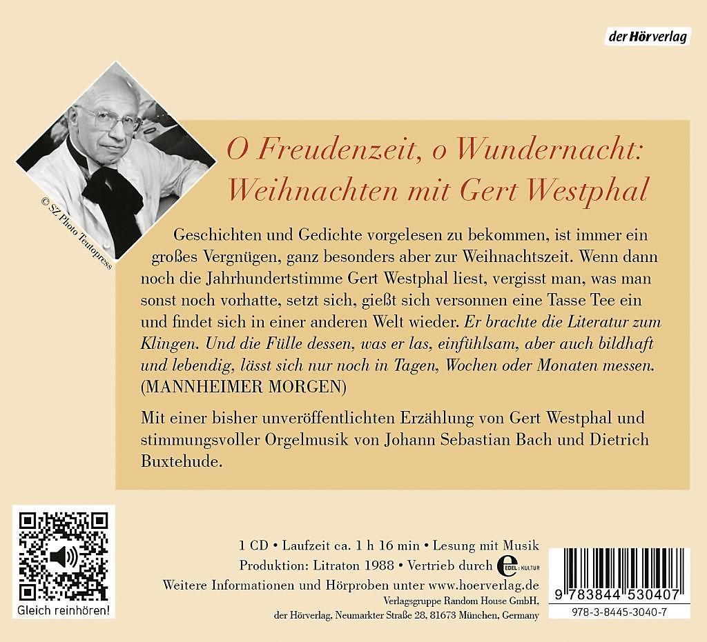 Wilhelm Busch Weihnachtsgedichte.Gert Westphal Liest Die Schönsten Gedichte Und Geschichten Zu