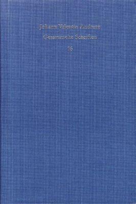 Gesammelte Schriften, 18 Bde.: Bd.16 Theophilus, Johann V Andreae