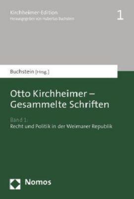 Gesammelte Schriften, Otto Kirchheimer