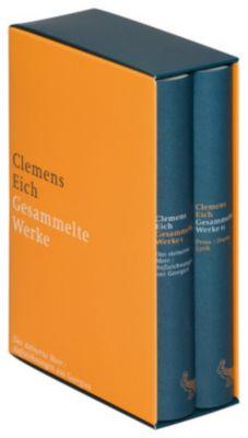 Gesammelte Werke, 2 Bde., Clemens Eich