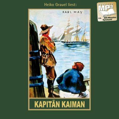 Gesammelte Werke, Audio-CDs: .19 Kapitän Kaiman, MP3-CD, Karl May